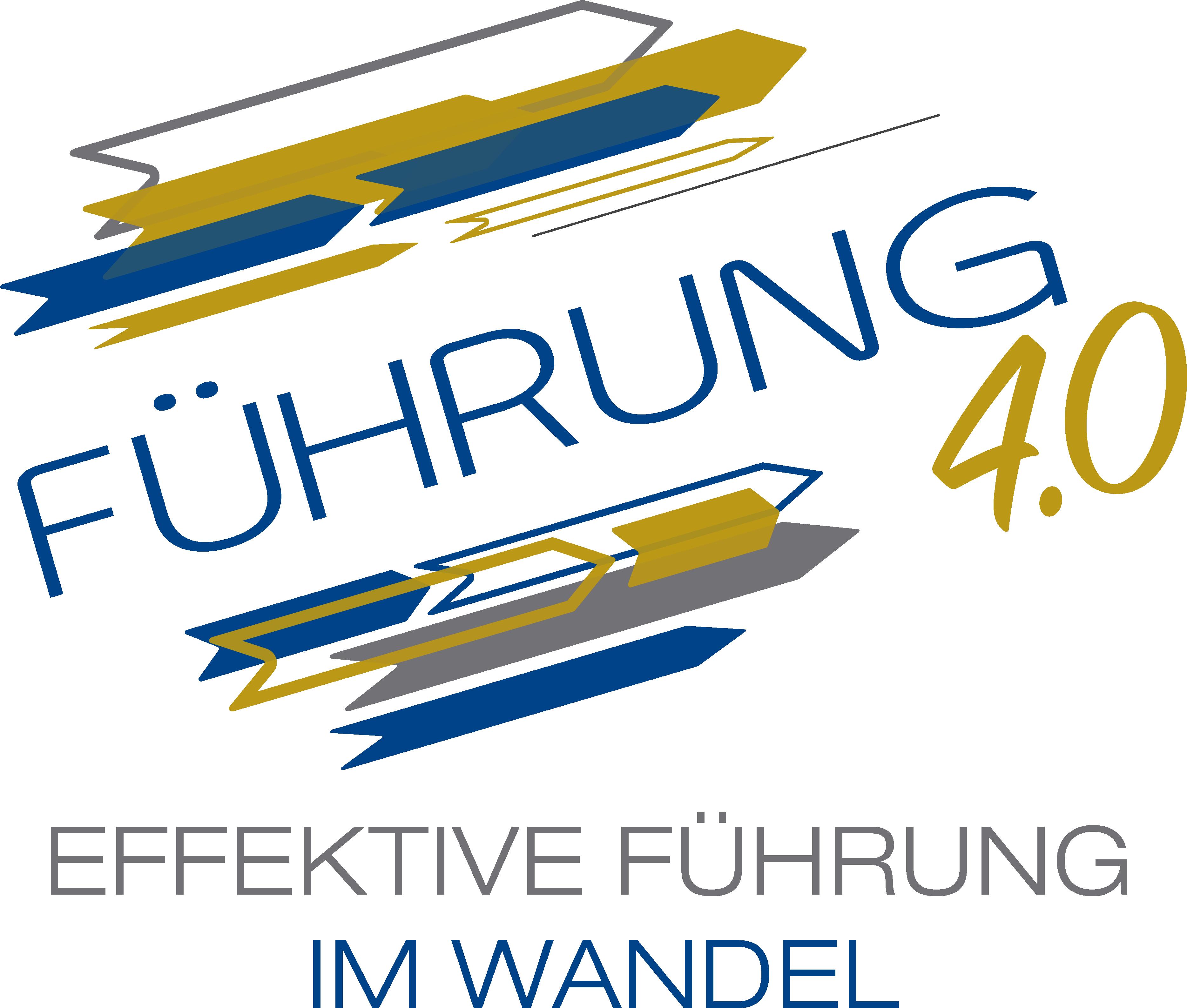 Logo Führung 4.0 das Jahresthema der Wirtschaftsjunioren Bayern e.V.