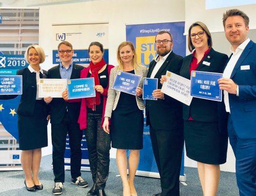 Die Teilnahme am politischen Entscheidungsprozess europaweit fördern